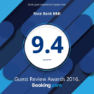Booking.com award badge